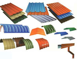 Metal Roofing - Manufacturer supplier and exporter of Metal